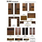 Bling elemes szekrény 2 - 245 cm