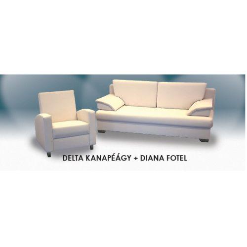 Delta-Diana garnitúra Gerincvédő Zónás ággyal