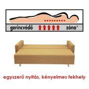 Modena kanapéágy Gerincvédő Zónával